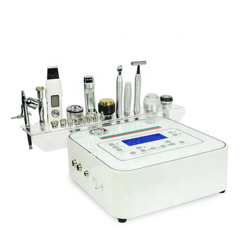 Professional Salon Use Facial Rf Cooling Dermabrasion Mesotherapy Device Micro Current Facial Machine