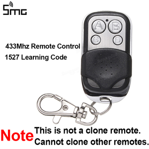 Image 4 - 2 canais de rolamento & código fixo receptor 433.92mhz + 2 controles remotos 433mhz 1527 código de aprendizagem transmissor