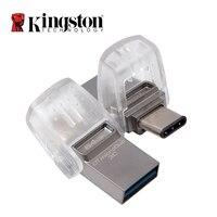 Kingston USB Flash Drive 64 ГБ 32 ГБ 16 ГБ USB 3.1 Тип-C Pendrive диск Memory Stick USB 3.0 цифровых данных Traveler Micro cle USB