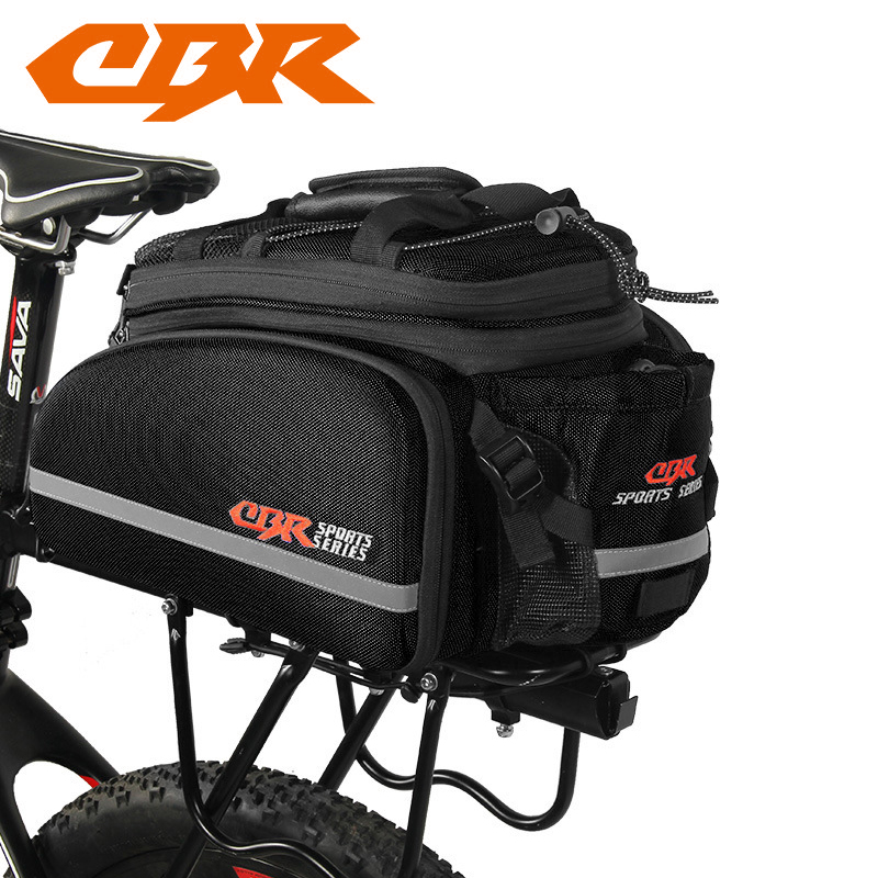 CBR Waterproof Cycling Bicycle Bag Bike Rear Seat Trunk Bag Handbag Rear Bike Panniers Mountain Bike Outdoor Travel Package roswheel mtb bike bag 10l full waterproof bicycle saddle bag mountain bike rear seat bag cycling tail bag bicycle accessories