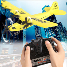 New Aircraft HL-803 Helicopter Plane Glider EPP Material Remote Control Air plane HL803 2CH 2.4G RC Model Toy WJ337