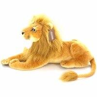 JESONN Realistic Stuffed Animals Lion Plush Toys for Children's Birthday Gifts