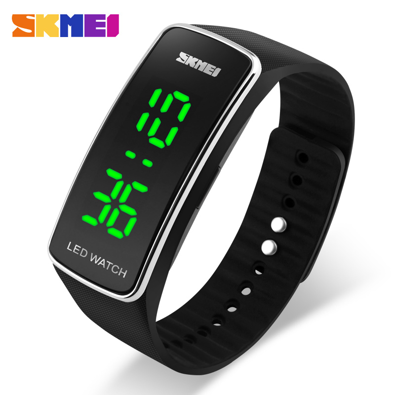 2016 New Skmei LED Digital Sports Watch Fashion Casual Dress Waterproof Outdoor Watches Wristwatches Relogio Masculino аксессуар защитное стекло для sony xperia xa1 plus luxcase 3d black frame 77381