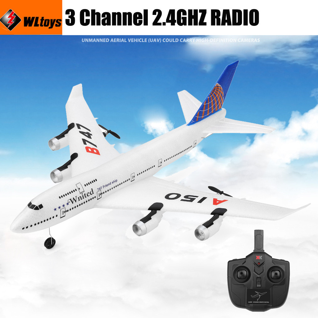 WLtoys A150- B747 3CH 2.4G RC Airplane mini drone RTF Remote Control Glider Sailplane Drone With Camera HD Flying MinionWLtoys A150- B747 3CH 2.4G RC Airplane mini drone RTF Remote Control Glider Sailplane Drone With Camera HD Flying Minion