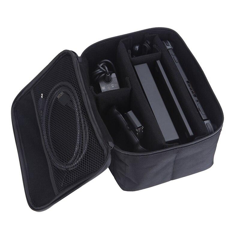 EastVita Borse di Gioco di Gioco Portatile di Caso di Immagazzinaggio Maniglia Protettiva Carry Case Cover Zipper Custodia Protettiva Shell Per Nintend Interruttore