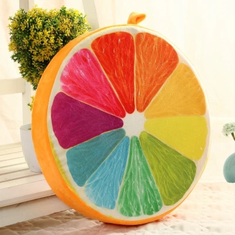 39*7cm Memory Foam Pouf for Baby Adults 3D Fruit Printed Bean Bag Chair for Dinning Dropshipping Back Cushions Sofa Throw Pillow armband for iphone 6