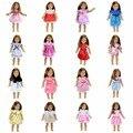 15 Цветов Американская Девушка Куклы Платье 18 Дюймов Куклы И Аксессуары Платья