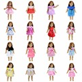 15 Colors American Girl Doll Dress 18 Inch Doll Clothes And Accessories Dresses