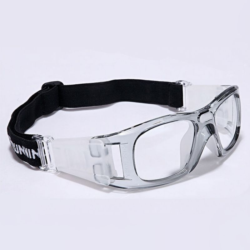 Wrap Around Basketball Sport Goggles For Men Clear Pc Lens