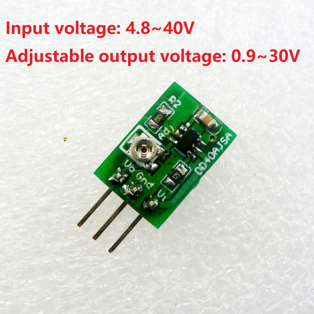 15 Pcs Dd40ajsa15 5w Dc Buck Converter Step Down 5v 36v To 5 12v 6v Circuit With 7805 Power Module Replace 7812 In Inverters Converters From Home Improvement On