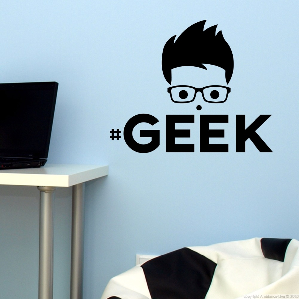 Stickers Geek Muraux
