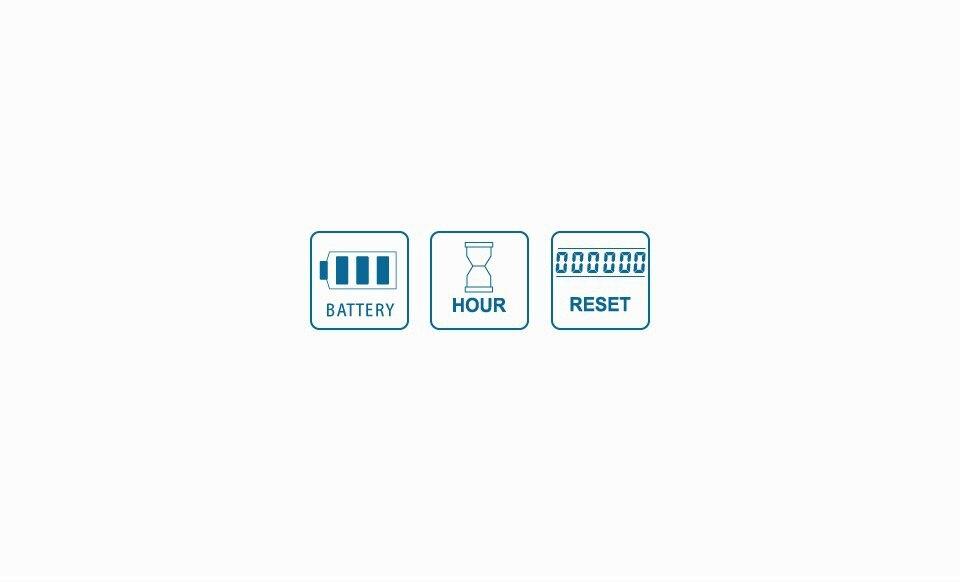 Цифровой ЖК-дисплей 12V 24V 36V 48V 72V свинцово-кислотный аккумулятор для хранения Батарея индикатор счетчик моточасов для Электрический Очиститель Гольф тележки для вилочных погрузчиков