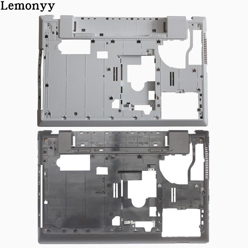 New case cover for samsung NP300V5A NP305V5A 300V5A 305V5A laptop bottom case base cover BA75-03228B white/black new laptop bottom base case cover for samsung np350v4c np355v4c