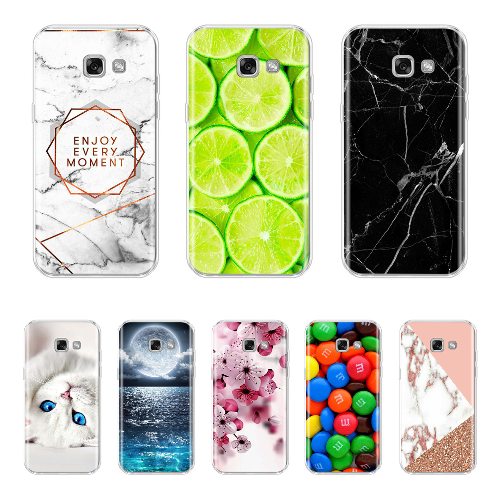 Phone Case For Samsung A3 2017 Soft Cover For Coque Samsung Galaxy A3 (2017) Sm-a320f A320 Back Cover Silicone Cover Coque Shell