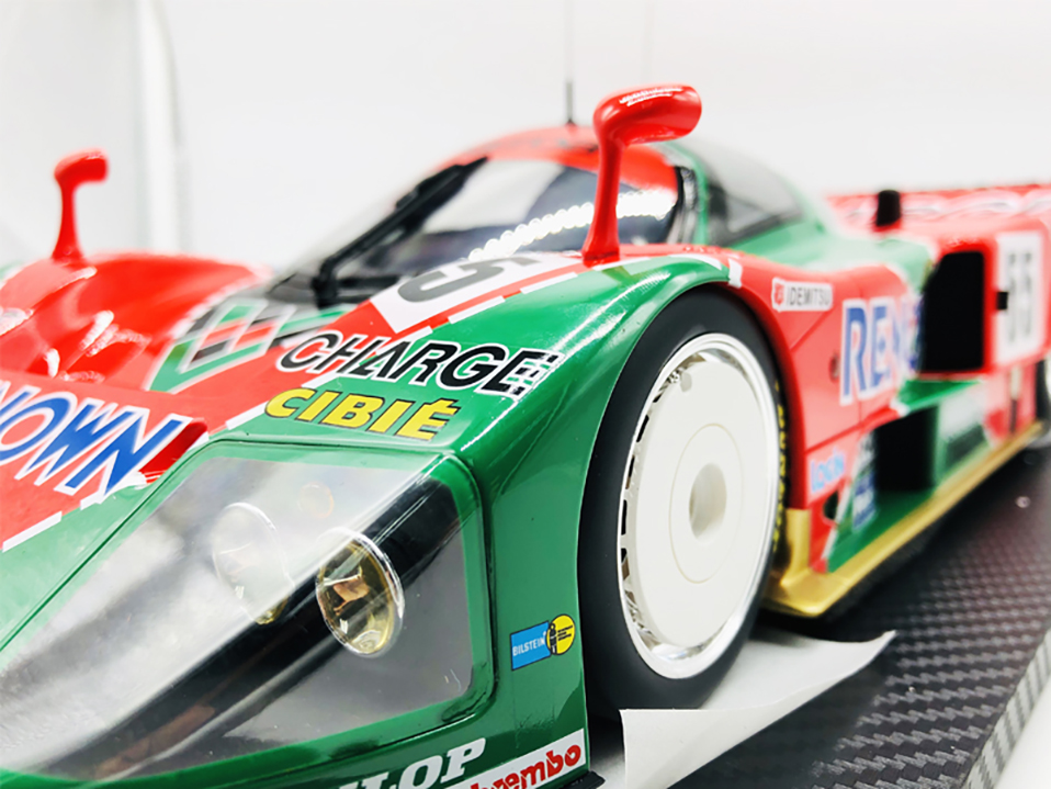 Diecast 112 car Toys For Boys red Mazada Diecasts Toy Vehicles 787B abs children Birthday Gift Model Car (3)