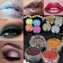 Natural matte sequins color makeup nude shiny pigment E yeshadow powder 1pc 70