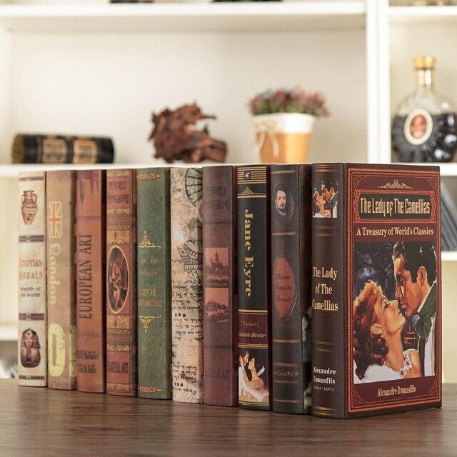 Decorative Fake Book Boxes Brilliant Stick Modern Props Books Brief Decoration Model Fake Book Box Design Inspiration