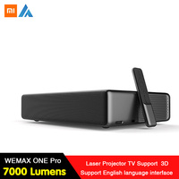 Xiaomi Newest WEMAX ONE PRO Laser Projector 7000 Lumens 150'' 1080P FHD 4K Android WiFi Bluetooth4.0 Home Theater 3D Dolby Sound
