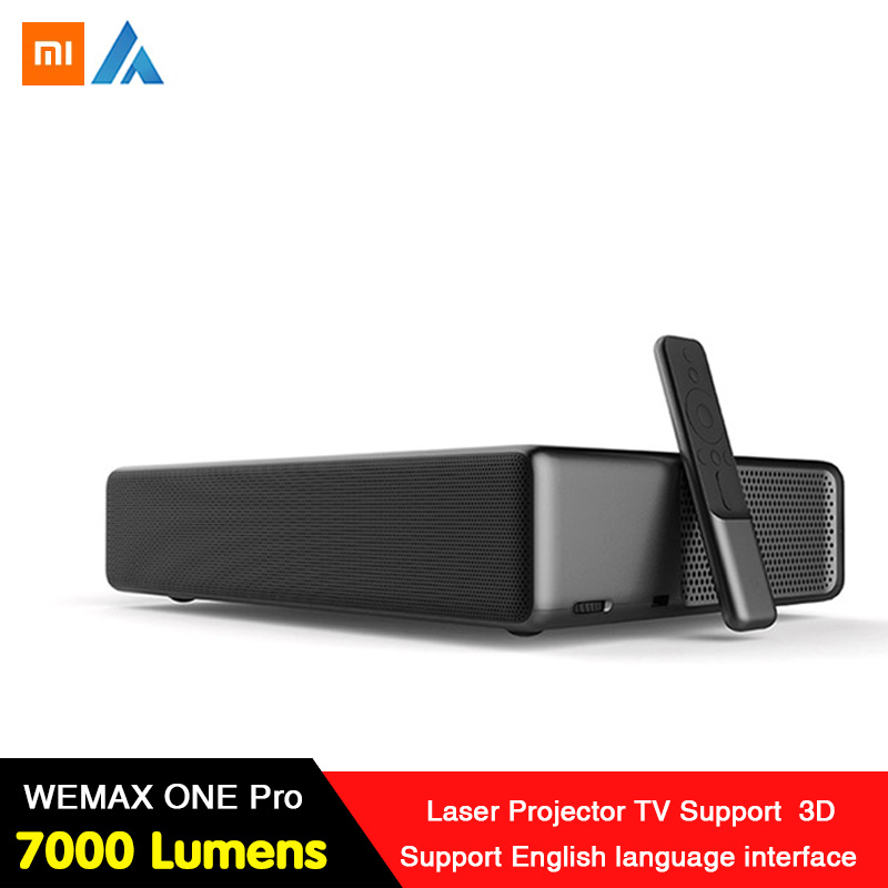 Xiaomi Newest WEMAX ONE PRO Laser Projector <font><b>7000</b></font> <font><b>Lumens</b></font> 150'' 1080P FHD 4K Android WiFi Bluetooth4.0 Home Theater 3D Dolby Sound image