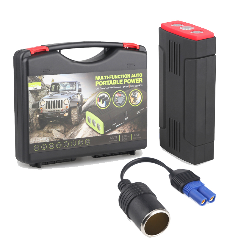 Urbanroad Mini Multi Function 68000mAh Emergency Car Jump Starter Power Bank 12V Portable Starting Device Car
