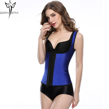 Taille formateur latex corset minceur gaine corset os en acier sexy lingerie bustiers estomac shaper korsett pour femmes fajas