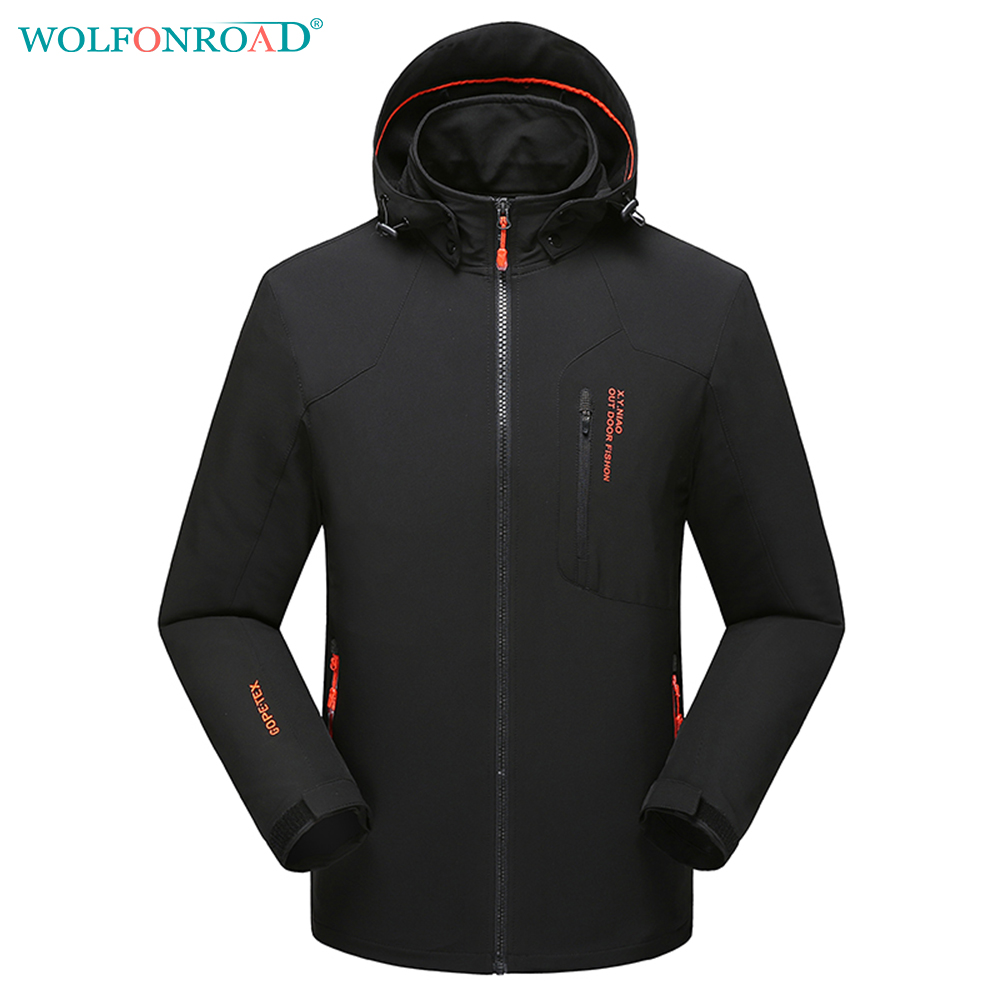 Wolfonroad men jacket summer thin windbreaker waterproof for Waterproof fishing jacket