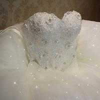 QQ Lover 2019 High Quality Elegant Luxury Lace Wedding Dress Vintage Bandage Plus Size Ball Gowns Vestido De Noiva