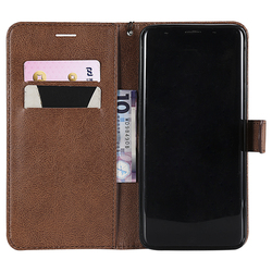 Flip Leather Wallet for iPhone 9 Plus Cover Soft TPU Card Pocket for iPhone X Case iPhone 8 7 6 6s Cover iPhone 5 5S SE Magnetic 3