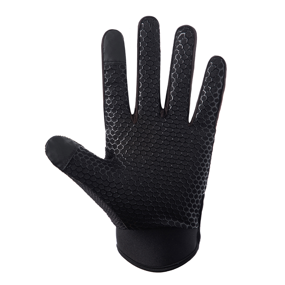 Sports Anti Slip Breathable Windproof Downhill Road Gloves Outdoor Cycling Full Finger Gloves Bicycle Bike Motorcycle Riding D20 in Cycling Gloves from Sports Entertainment
