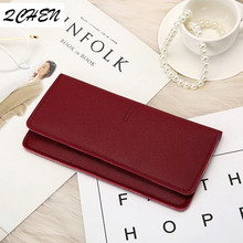 Woman's wallet New Fashion Women Wallets Long Style Multi-functional wallet Purse Fresh PU leather Female Clutch Card holder 359 цены