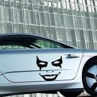 2017 Hot Sale 2x Joker Clown Face Vinyl Decal Bumper Sticker Car Truck Door Car Stying