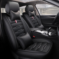 Universal pu leather car seat cover auto seats covers for Citroen c1 celysee ds3 c4 ds4 c5 ds5 c3 aircross c4aircross