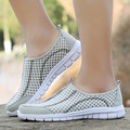 Women Shoes 2017 Summer Loafers Slip on Breathable Casual Mesh Shoes Hight Quality Women Footwear Summer Light Walking Shoes