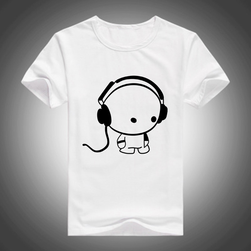 Mens Fashion Famous Brand Logo T Shirts Casual Design Cotton T