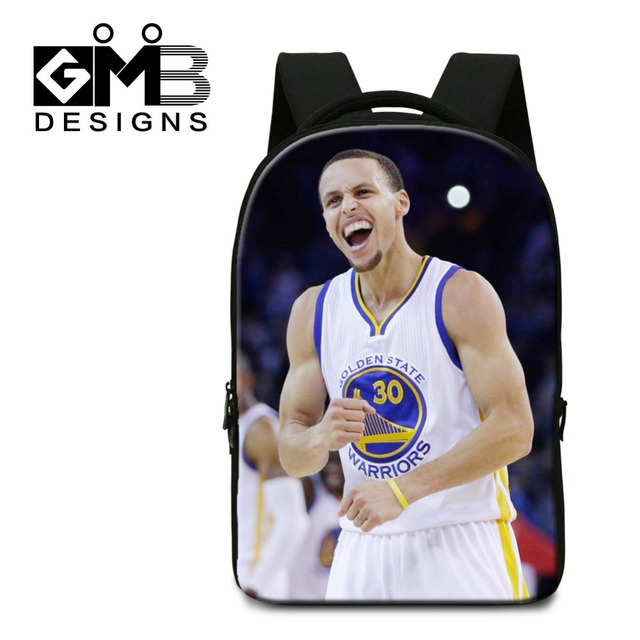 fd2ecbcdcb6a Fashion Men Computer Backpacks Stephen Curry School Bags For College Student  Laptop Shoulder Bags Cool Big Casual Travel Bags