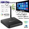 2017 Android 6.0 Caixa De TV 3G 2 GB 16 GB Amlogic S912 Núcleo octa X98 Pro Smart Media Player Dual Wifi 4 K H.265 BT4.0 KODI Profissional