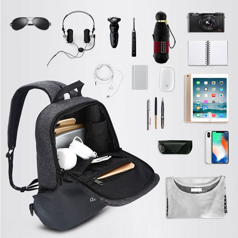 Classic Briefcase Messenger Solid Bags for Teenagers USB Charging Chest High Capacity Crossbody Strap Packs Mochila in Crossbody Bags from Luggage Bags