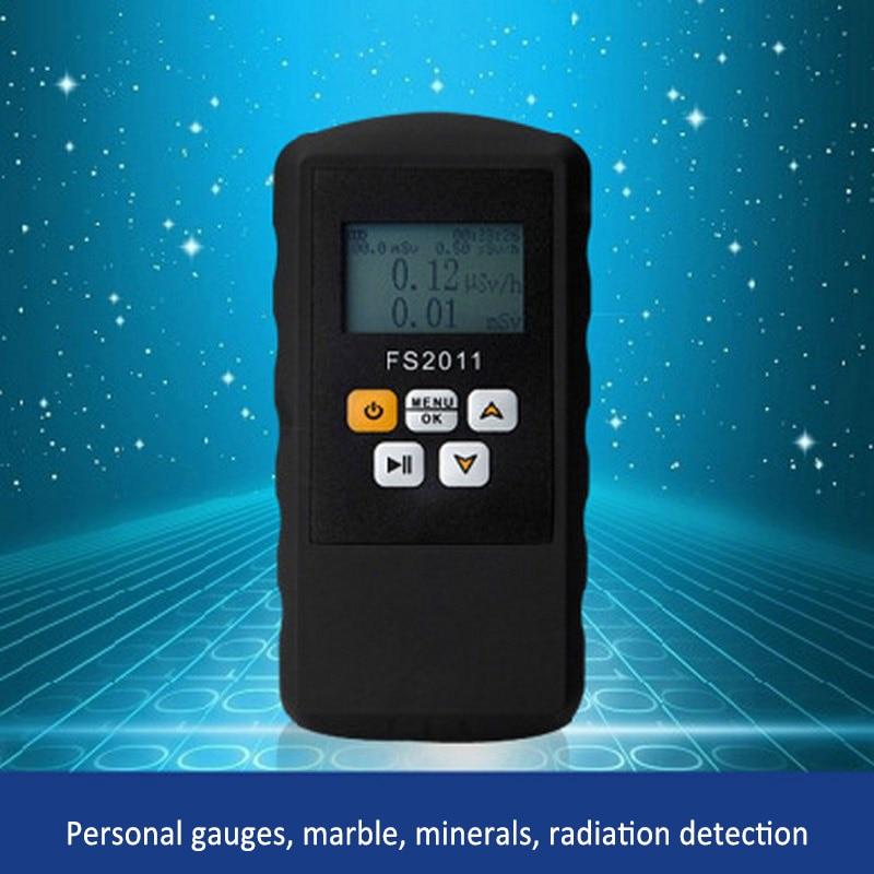 Geigerův radiační čítač jaderný detektor Beta gama rentgen s alarmem mramorový tester nástroj LCD displej radioaktivní detektor