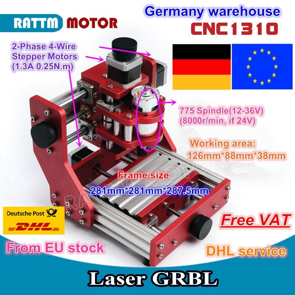 La UE gratis IVA Benbox 1310 CNC de metal de máquina cortadora de grabado de PCB de aluminio de cobre máquina de grabado máquina de enrutador mini CNC