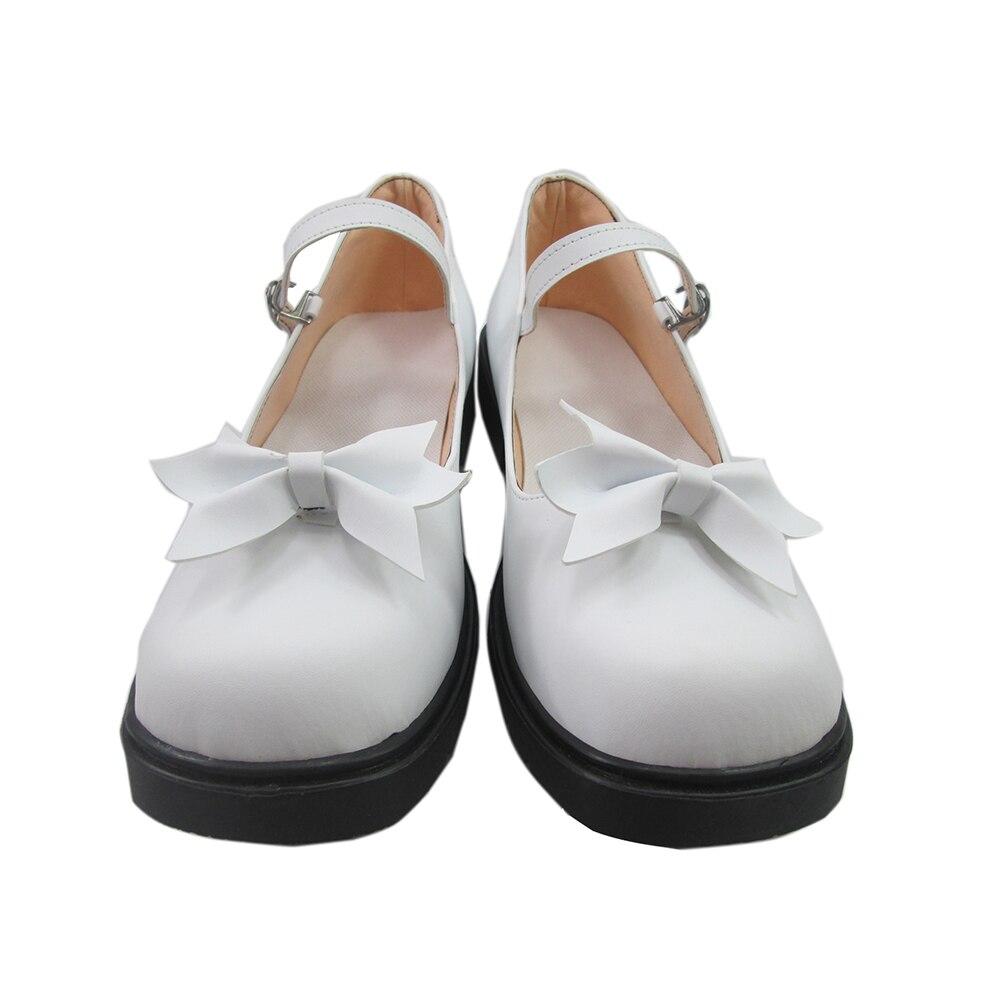 Danganronpa Dangan Ronpa Fujisaki Chihiro Boot Party Shoes Cosplay Boots