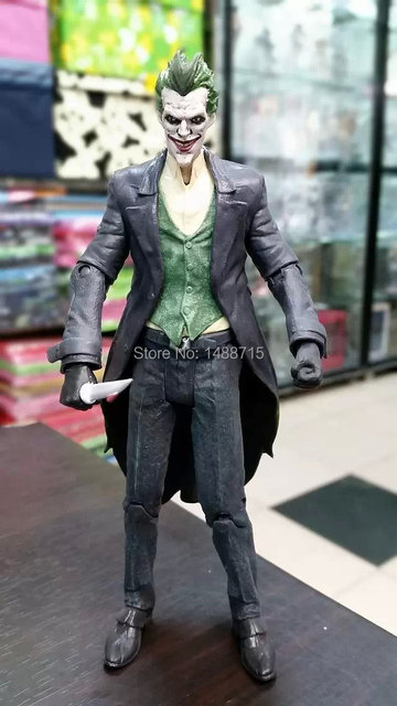 New DC Comic Movie Super Hero Batman Villain The Joker With Gun 2 Face 7 Action Figure Toys