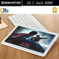 K999 CARBAYSATR Metal 10.1 polegada ROM Inteligente android 4.4 tablet pc 64 GB 1280*800 IPS tela Tablet Android telefone Móvel 4G Wifi GPS