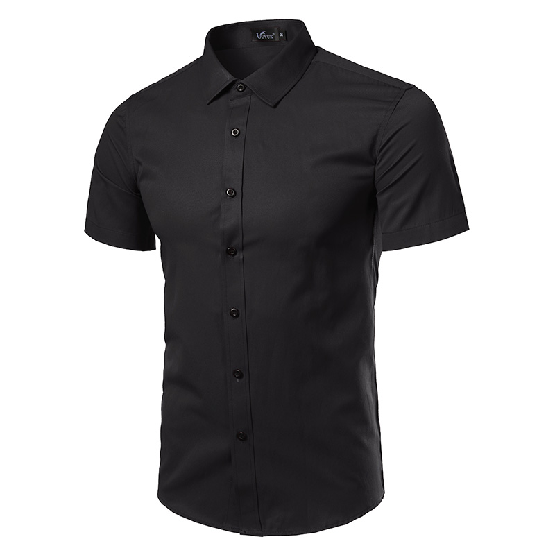 Markyi plus size 5xl fashion 2017 new casual shirts cotton for Good quality mens dress shirts