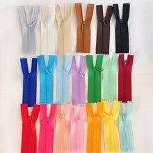 10 шт~ 20 цветов 10 см длина мини молнии для детской одежды/куклы игрушки аксессуары