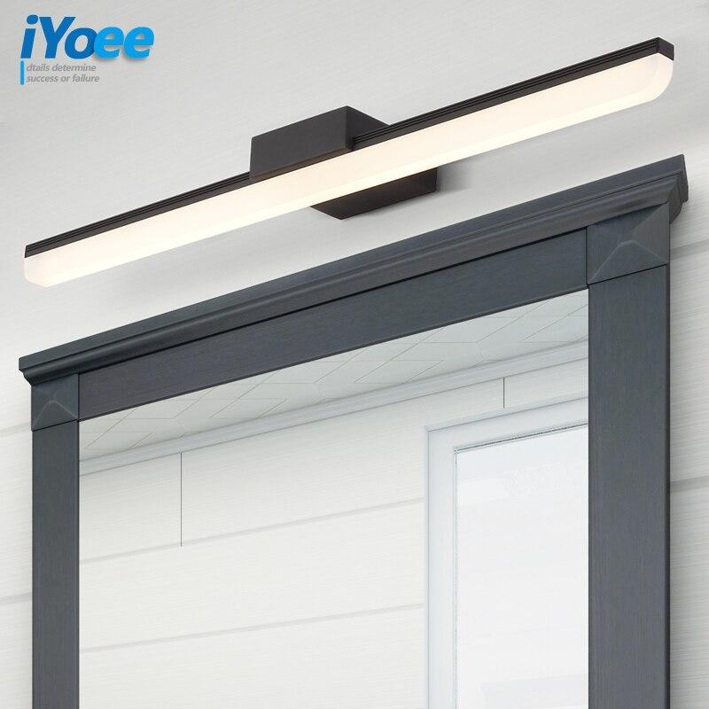 Nordic mirror led light 85 265V 9W waterproof bathroom cabinet lamp Europe American dresser vanity makeup