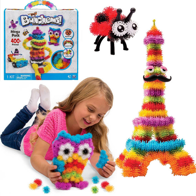 Bunchems 400 Piece Mega Pack Squish, Connect and Create