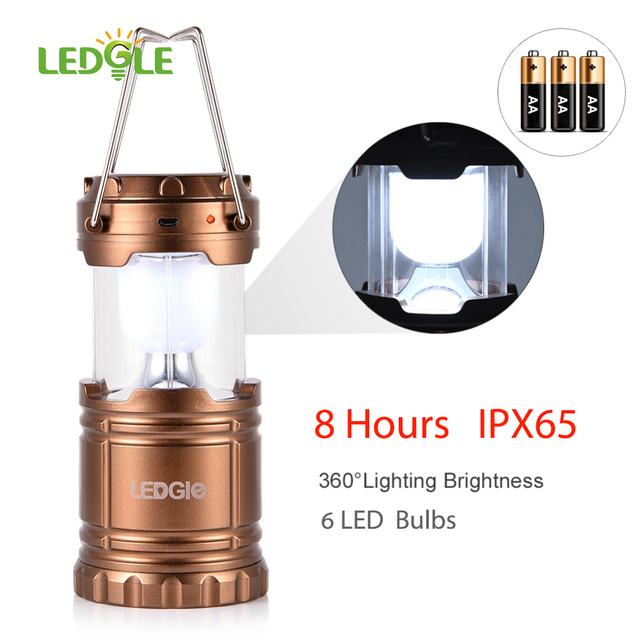 Ledgle 6leds ipx65 waterproof solar charging camping lantern ledgle 6leds ipx65 waterproof solar charging camping lantern rechargeable outdoor lighting lampe camping light collapsible mozeypictures Image collections