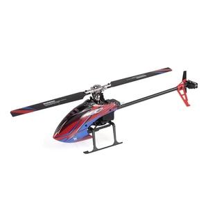 Image 4 - Wltoys helicóptero sin escobillas 3D 6G Flybarless BNF RC, helicóptero súper Compatible con FUTABA K130 B, sin transmisor, XK S FHSSRTF, 2,4G, 6 CANALES