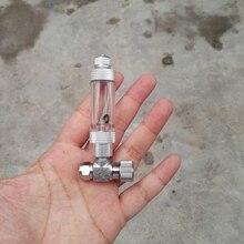 Игольчатый клапан co2 регулятор счетчик пузырей аквариум diy co2 системы аксессуары для воды завод аквариум