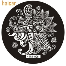 HAICAR Love Beauty New Good Quality Cute Pattern Nail Art Image Stamp Stamping Plates Manicure Template